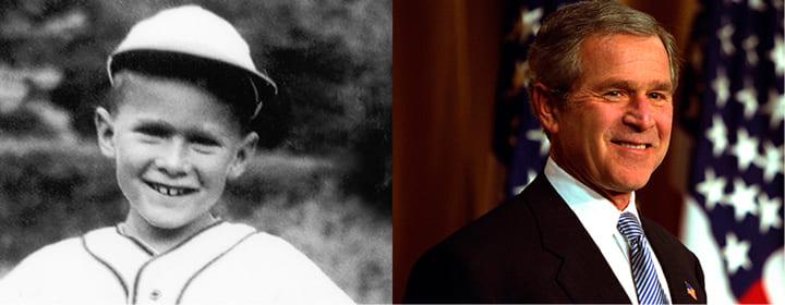 Джордж Буш дислексия