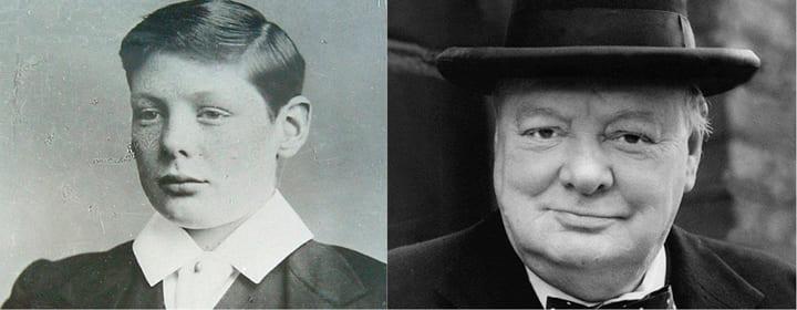 Уинстон Черчилль дислексия