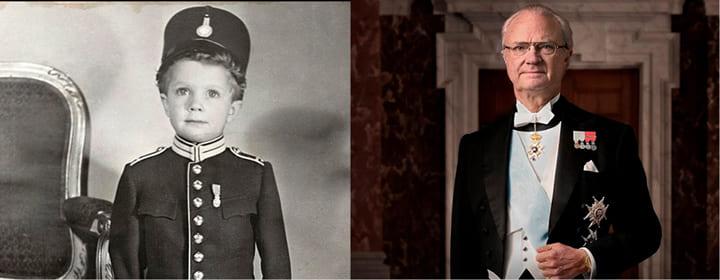 Король Швеции Карл Густав дислексия
